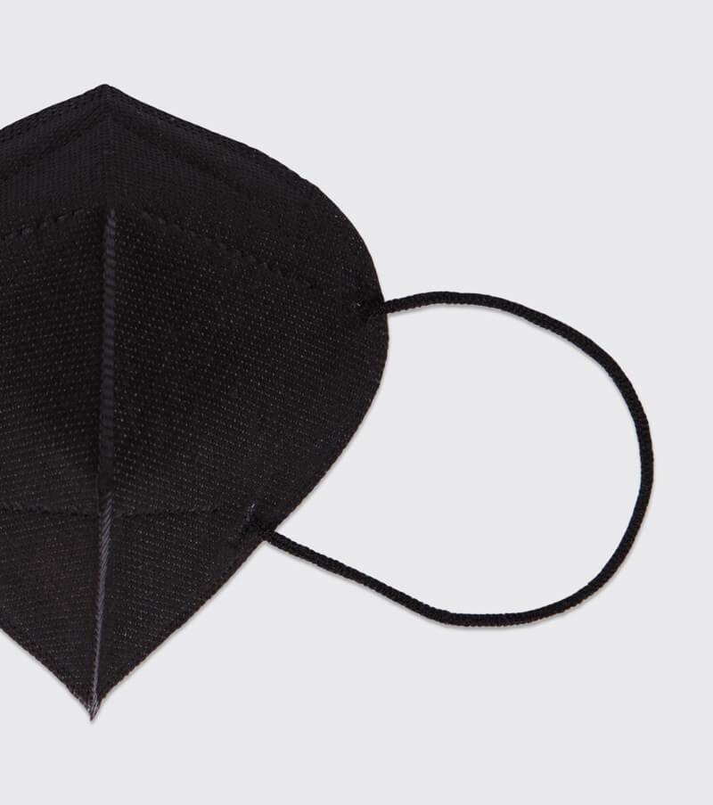 mascarilla higienica reutilizable airnatech plus negra gomas