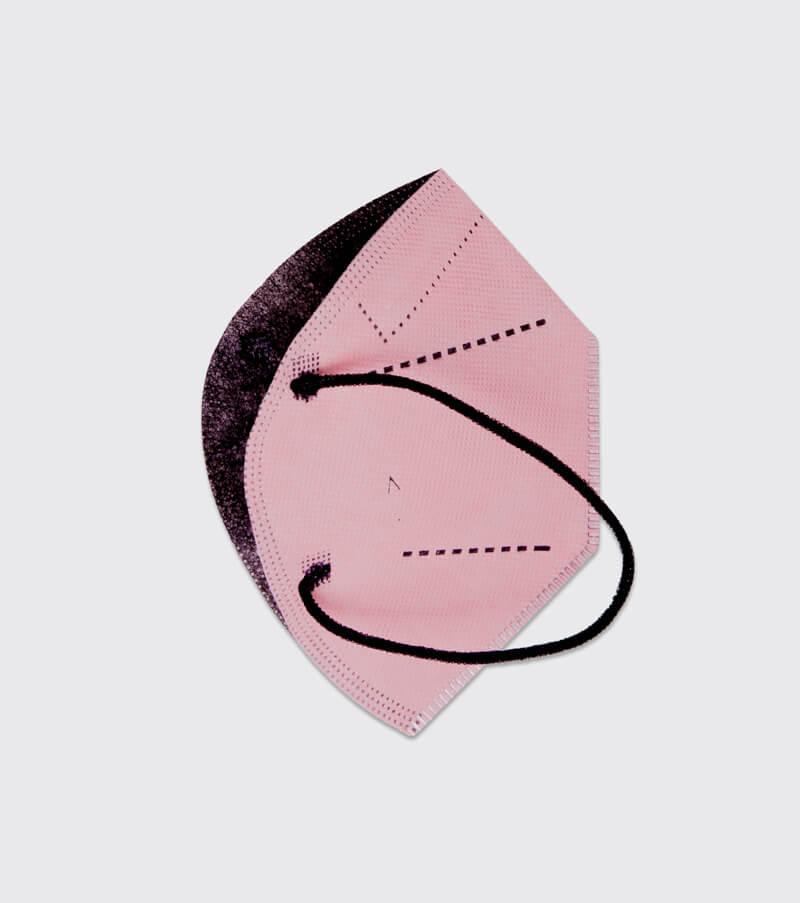 mascarilla higienica reutilizable airnatech plus rosa capas