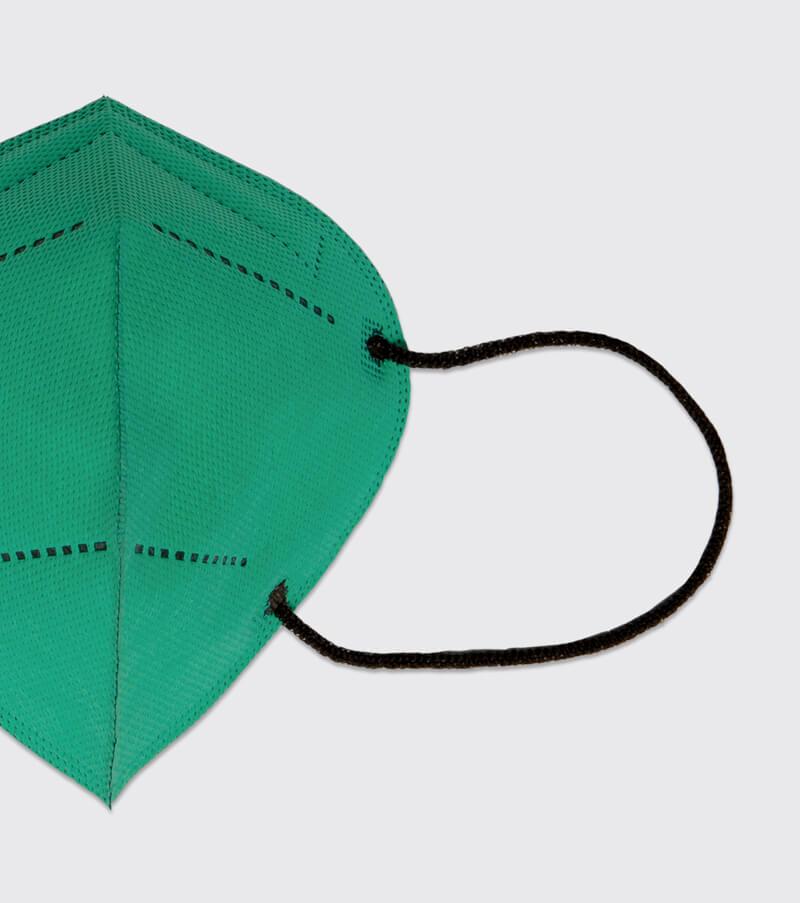 mascarilla higienica reutilizable airnatech plus esmeralda gomas