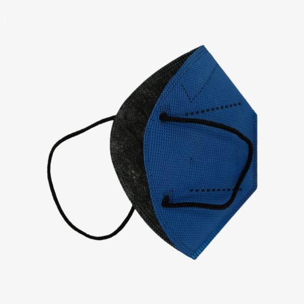 mascarilla airnatech plus azul almirante lateral fondo negro