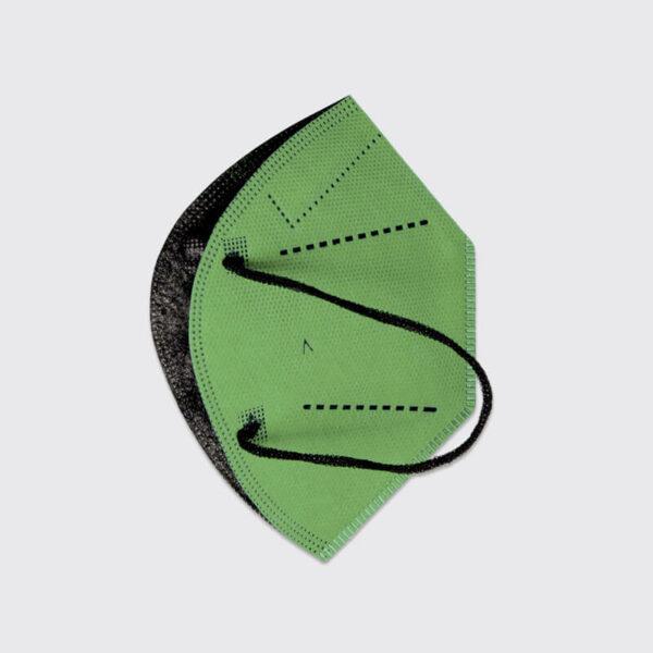 mascarilla higienica reutilizable airnatech plus verde pistacho capas