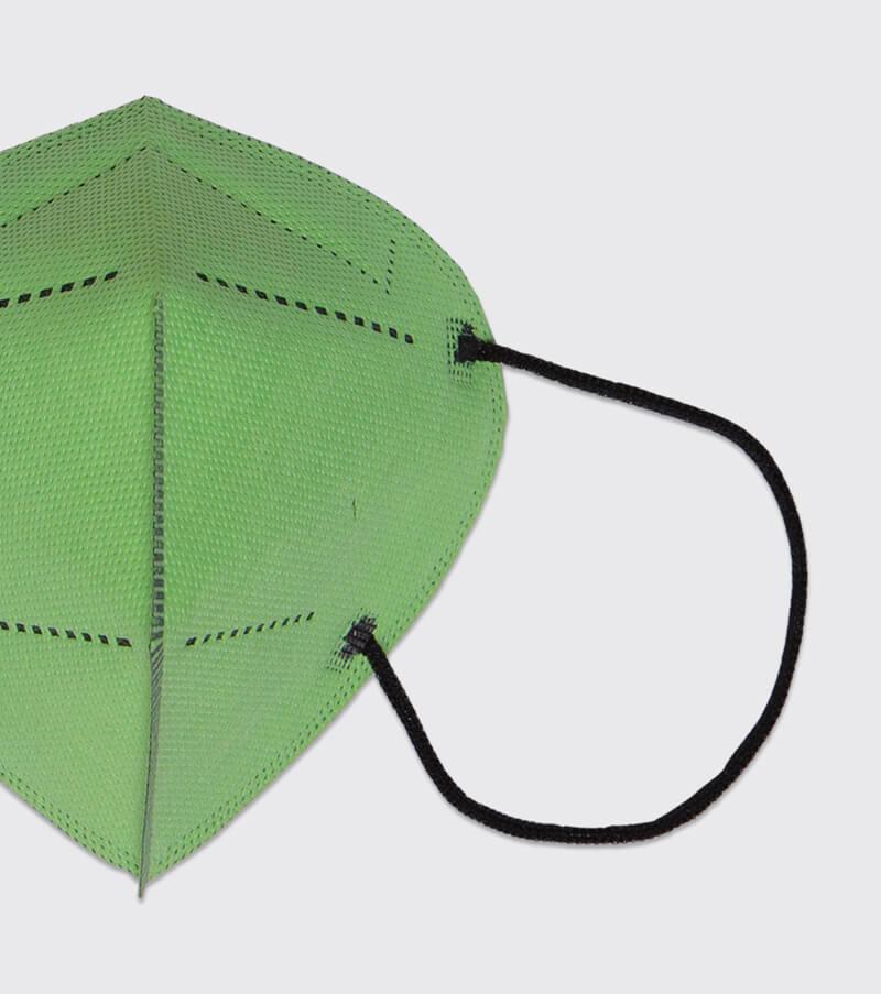 mascarilla higienica reutilizable airnatech plus verde pistacho gomas