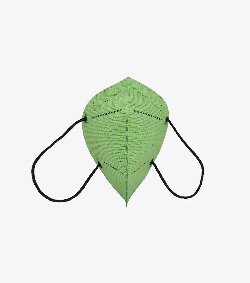 mascarilla verde pistacho airnatech plus frontal