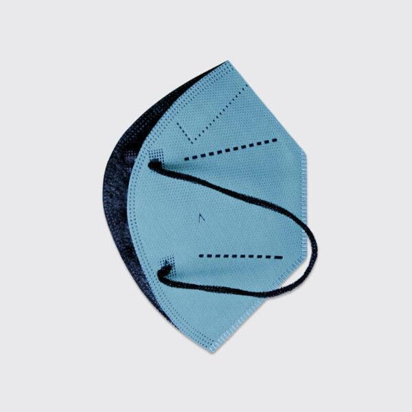 mascarilla higienica reutilizable airnatech plus azul celeste capas