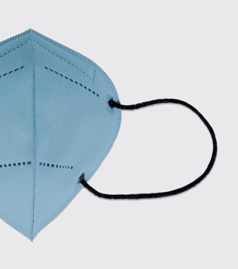 mascarilla higienica reutilizable airnatech plus azul celeste gomas