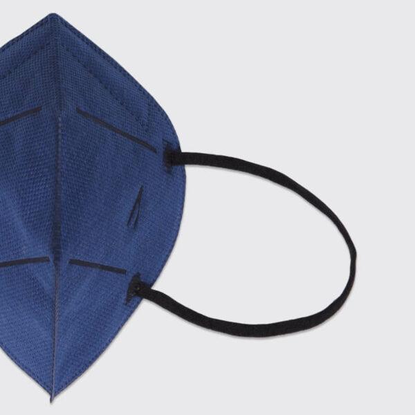 mascarilla higienica reutilizable airnatech plus mini azul marino gomas