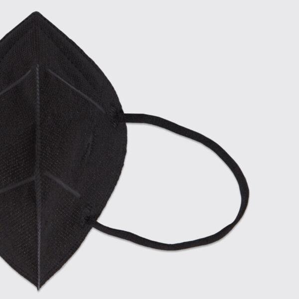 mascarilla higienica reutilizable airnatech plus mini negra gomas