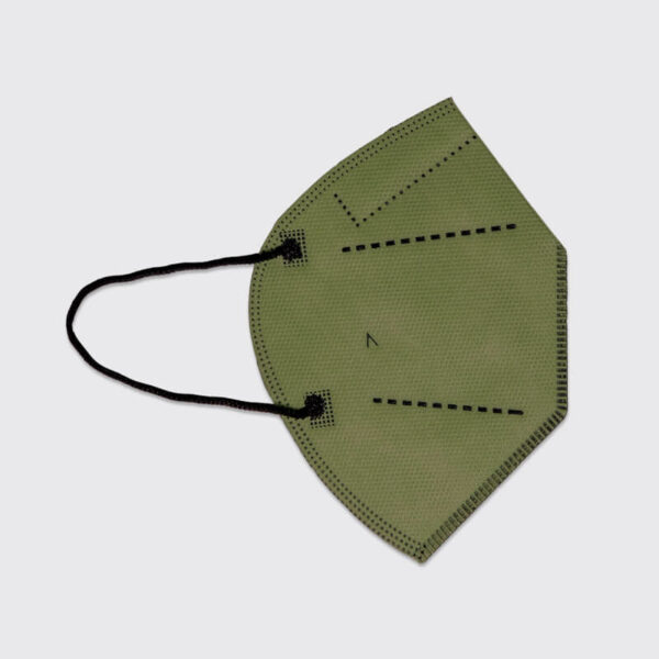 mascarilla higienica reutilizable airnatech plus verde militar